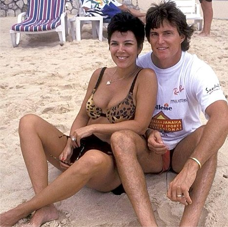 Kris and Bruce Jenner were married in April 1991
