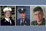 Lt. Howard Bischoff, 58, and firefighters Daniel Heglund, 58, and Robert Leaver, 56, died within hours of one another on September 22