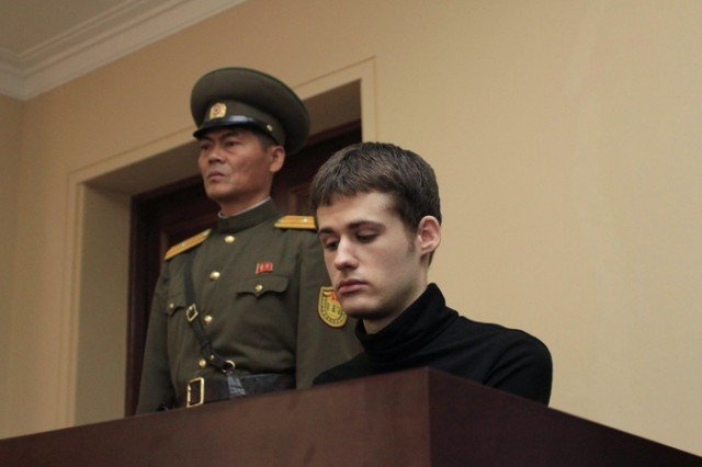 Matthew Todd Miller has been sentenced to six years of hard labor for hostile acts in North Korea