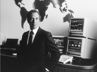 Michael Bloomberg launched his namesake company after being fired from investment bank Salomon Brothers