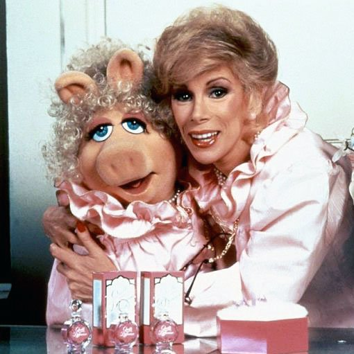 Miss Piggy paid tribute to Joan Rivers despite their longstanding feud originating with their co-starring roles in 1984's The Muppets Take Manhattan