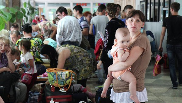 More than a million people have left their homes because of the escalating conflict in eastern Ukraine