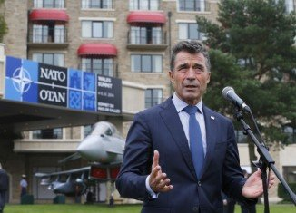 NATO Secretary-General Anders Fogh Rasmussen told reporters the summit in Wales is taking place in a dramatically changed security environment, with Russia attacking Ukraine