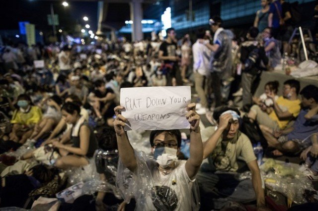 Occupy Central protesters have issued demands for the Chinese government to scrap rules outlining the election of the next chief executive in 2017
