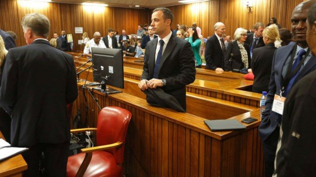 Oscar Pistorius has pleaded not guilty to all the charges he faces at his Pretoria trial 640x360 photo