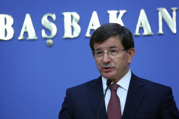 PM Ahmet Davutoglu said the hostages had been taken to the southern city of Sanliurfa by the Turkish intelligence agency