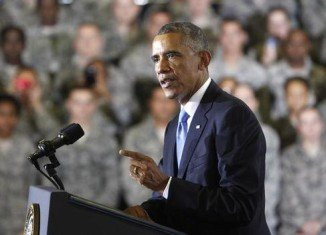 President Barack Obama repeated that he would not be committing American combat troops to ground operations in Iraq
