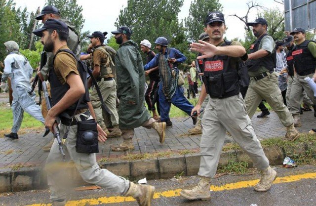 Protests in Pakistan had been peaceful until August 30, when violence broke out