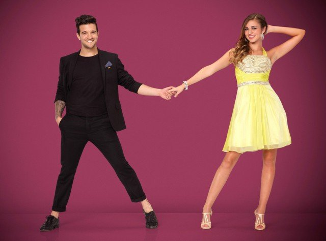 Sadie Robertson hit the dance floor with Mark Ballas on Dancing with the Stars
