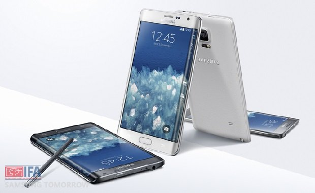 Samsung has unveiled its Galaxy Note Edge smartphone whose screen bends around one of its sides