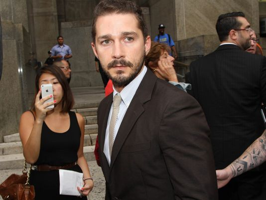 Shia LaBeouf has pleaded guilty to a charge of disorderly conduct over his disruption of a Broadway performance of Cabaret