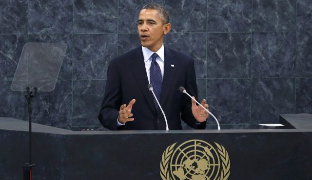 Speaking at the UN General Assembly in New York, President Barack Obama has urged the world to help dismantle the ISIS network of death