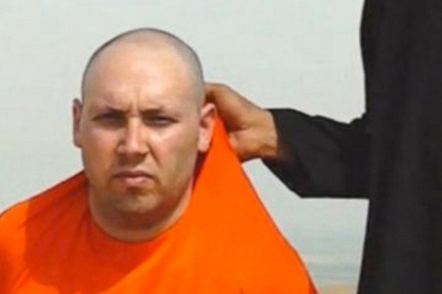 Steven Sotloff was abducted near Aleppo in northern Syria in August 2013