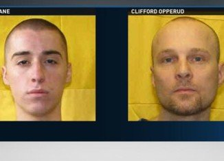 TJ Lane and Clifford Opperud escaped from Ohio's Allen Oakwood Correctional Institution