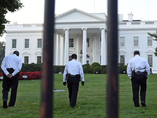 The Secret Service has stepped up security at the White House after two attempted breaches in 24 hours