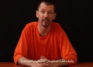 The video featuring John Cantlie has been released nearly a week after footage depicting the death of David Haines, the first British hostage to be killed