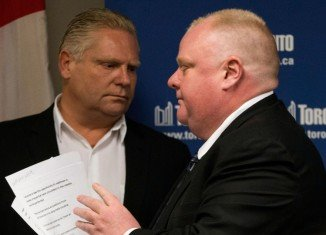 Toronto Councilor Doug Ford has replaced brother Rob Ford on the October 27 ballot
