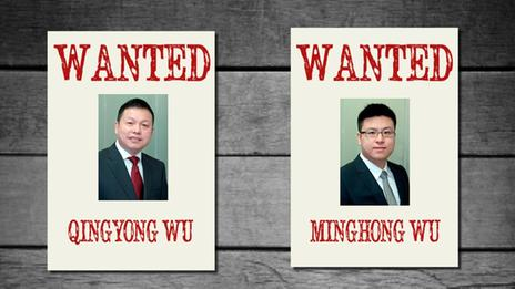 Ultrasonic executives, Qingyong Wu and his son Minghong Wu, have apparently left their homes and are not traceable