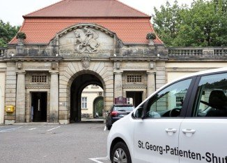 A UN medical worker infected with Ebola has died at St Georg hospital in Leipzig