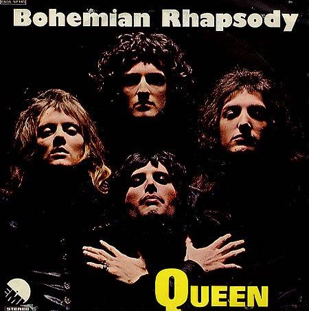 A poll suggests that Queen's Bohemian Rhapsody is a good song for people to listen to if they feel unwell or down