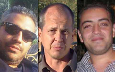 Al-Jazeera journalists Mohamed Fahmy, Peter Greste and Baher Mohamed were sentenced to seven years in jail in Egypt