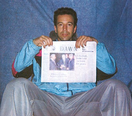 American journalist Daniel Pearl went missing in Karachi in January 2002