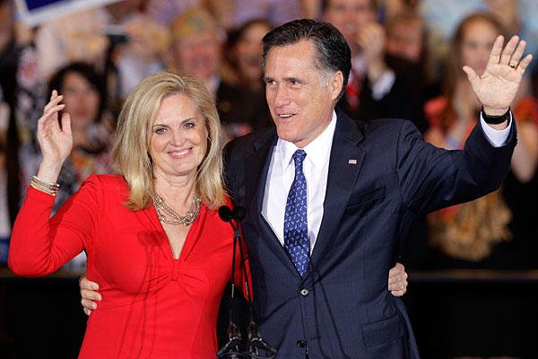 Ann Romney has denied Mitt Romney will make a new bid for the White House in 2016