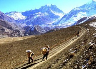 Annapurna Circuit is one of the oldest trekking trails in the Himalayas and has been open to foreigners since 1977