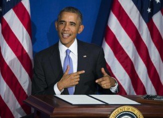 Barack Obama revealed his credit card was declined at a restaurant in New York City