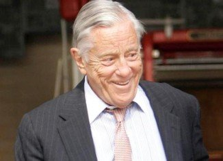 Ben Bradlee played a key role in the Watergate scandal that toppled President Richard Nixon