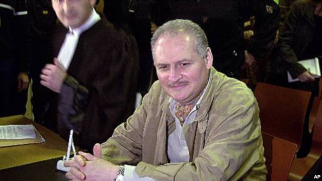 Carlos the Jackal carried out a string of attacks in the 1970s and 80s