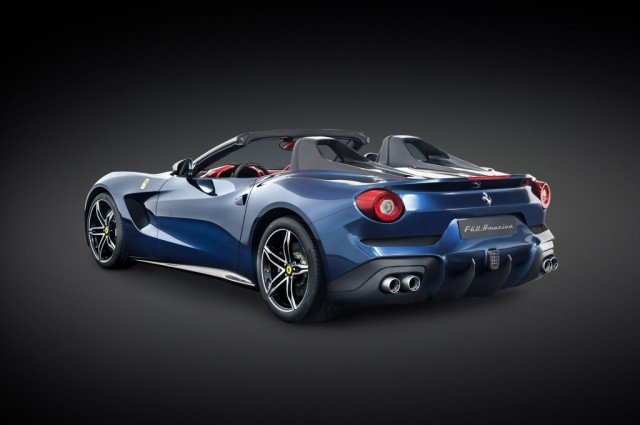 Ferrari has unveiled the new F60 America, a car designed to celebrate the carmaker's 60th anniversary in North America