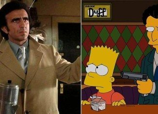 Frank Sivero has filed a lawsuit against Fox claiming The Simpsons character of Louie was based on his portrayal of Frankie Carbone in Martin Scorsese's Goodfellas