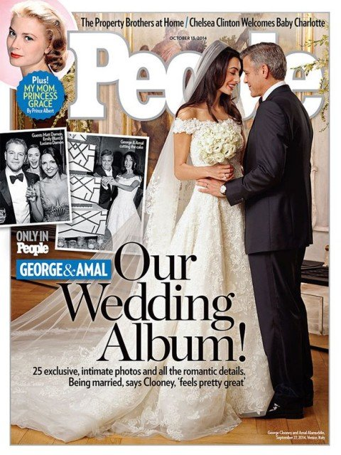 George Clooney and Amal Alamuddin tied the knot last month in Venice