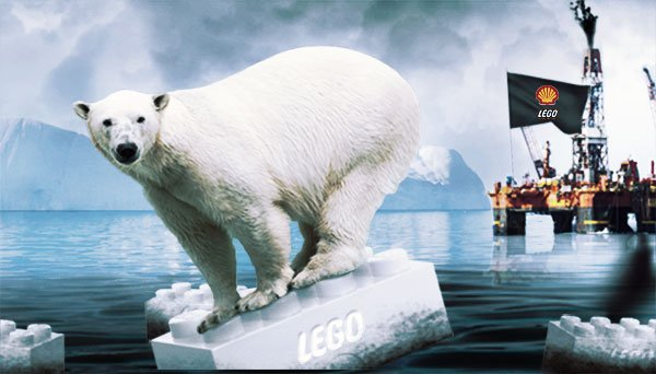 Greenpeace has been campaigning against Arctic drilling by oil companies such as Shell and has accused Lego of associating with bad company