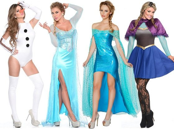 Halloween costume shoppers are seeking far more wholesome options in 2014, with characters from Disney's mega-hit Frozen the most-searched by a wide margin