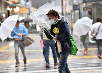 Japan is bracing for the arrival of powerful Typhoon Vongfong