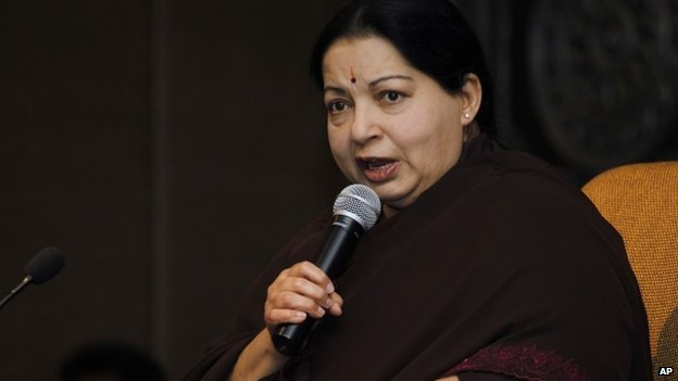 Jayaram Jayalalitha was jailed last month for four years on corruption charges