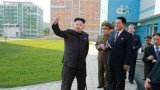 Kim Jong-un has made his first public appearance since September 3 at a newly-built scientists' residential district