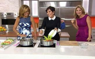 Kris Jenner spoke about her new cookbook on Today Show