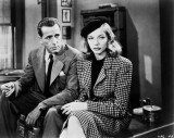 Lauren Bacall was famed for her on and off-screen partnership with Humphrey Bogart