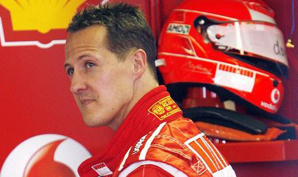 Michael Schumacher was skiing in the French Alps last December when he fell and hit his head on a rock