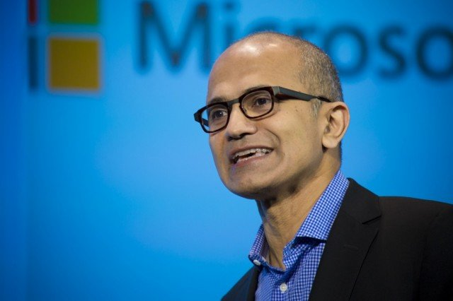 Microsoft CEO Satya Nadella has been given a pay package worth $84.3 million