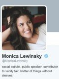 Monica Lewinsky joined Twitter on October 20, quickly earning thousands of followers