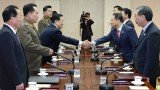 North Korea and South Korea have held talks for the first time in seven years