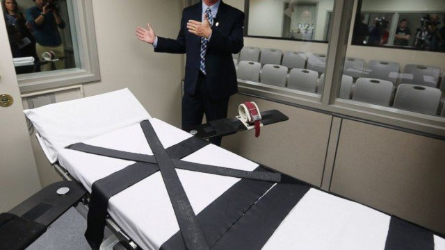 Oklahoma corrections officials have unveiled the state's remodeled death chamber