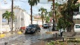 One person died in the Dutch territory of St Maarten after Hurricane Gonzalo passed over the Caribbean
