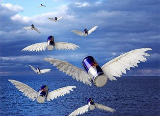 Red Bull slogan claims the fizzy drink gives you wings