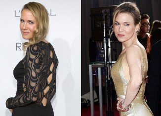 Renee Zellweger looked different as she attended Elle's Women in Hollywood Awards in Beverly Hills