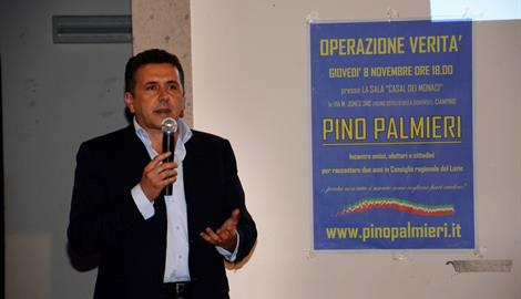 Roscigno Mayor Pino Palmieri has invited every family in his town to join him for breakfast at the town hall